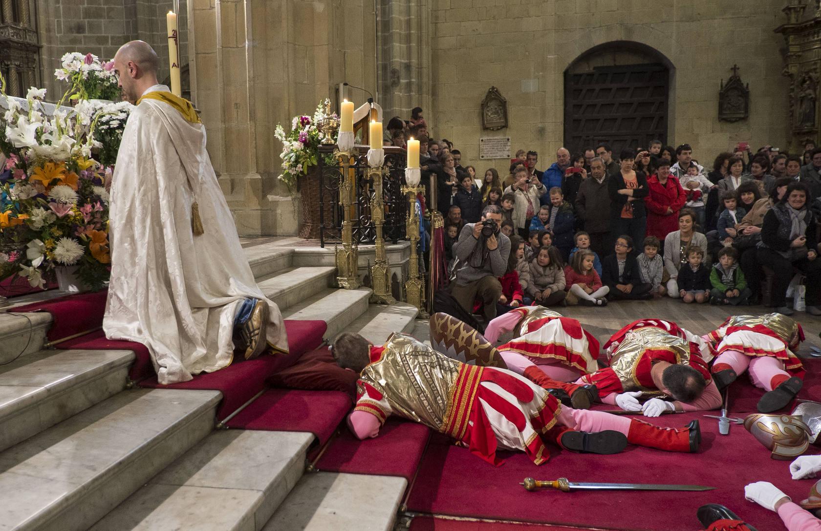Hondarribia celebra la caída de los romanos