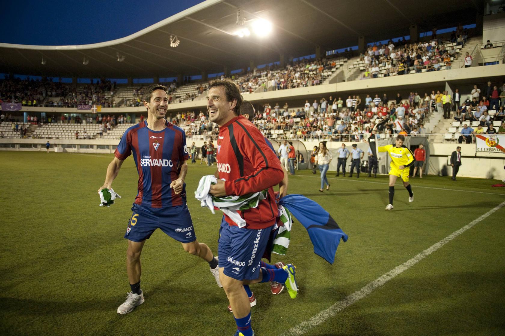 Eibar celebra el ascenso a Segunda
