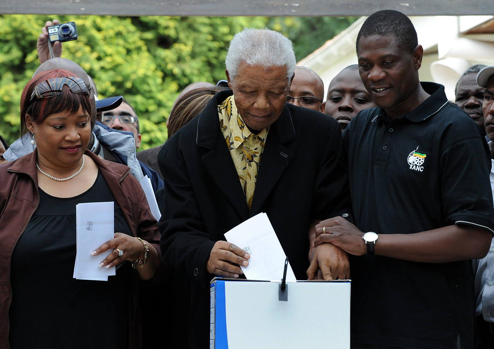 Mandela, el líder global