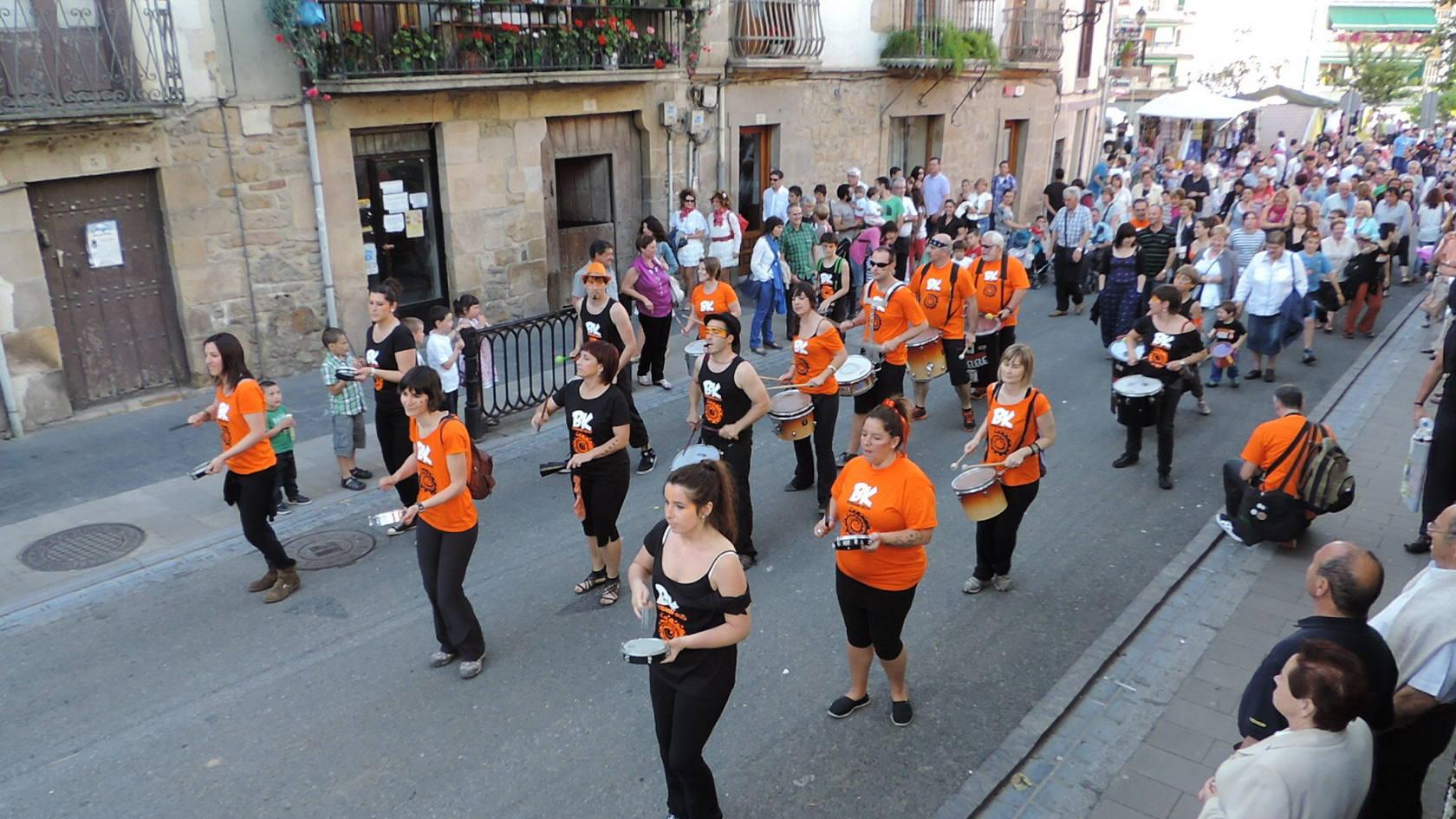 Mucha participación en las fiestas de San Pedro de Lasarte-Oria