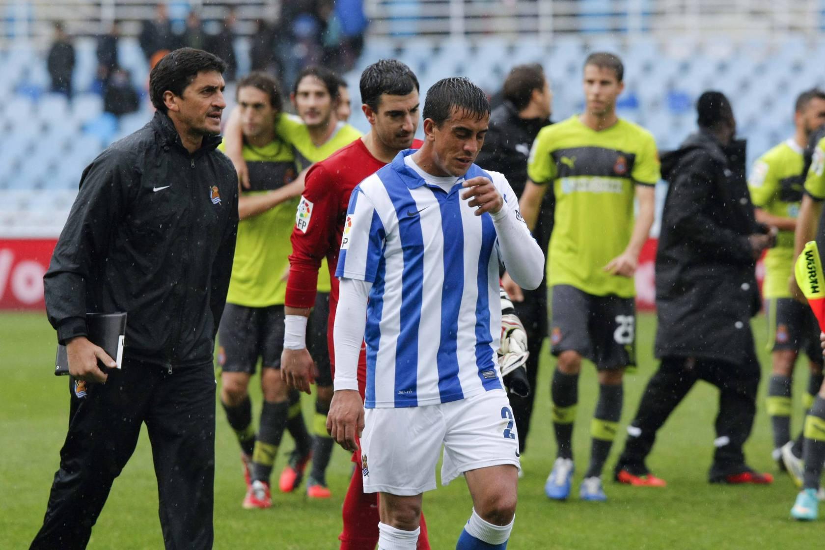 La Real pierde en Anoeta ante el Espanyol