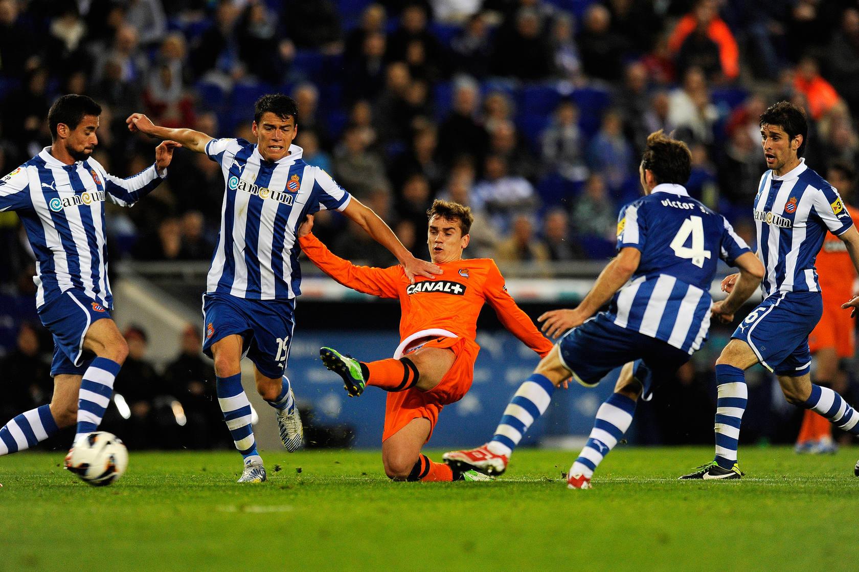 La Real consigue un valioso punto ante el Espanyol