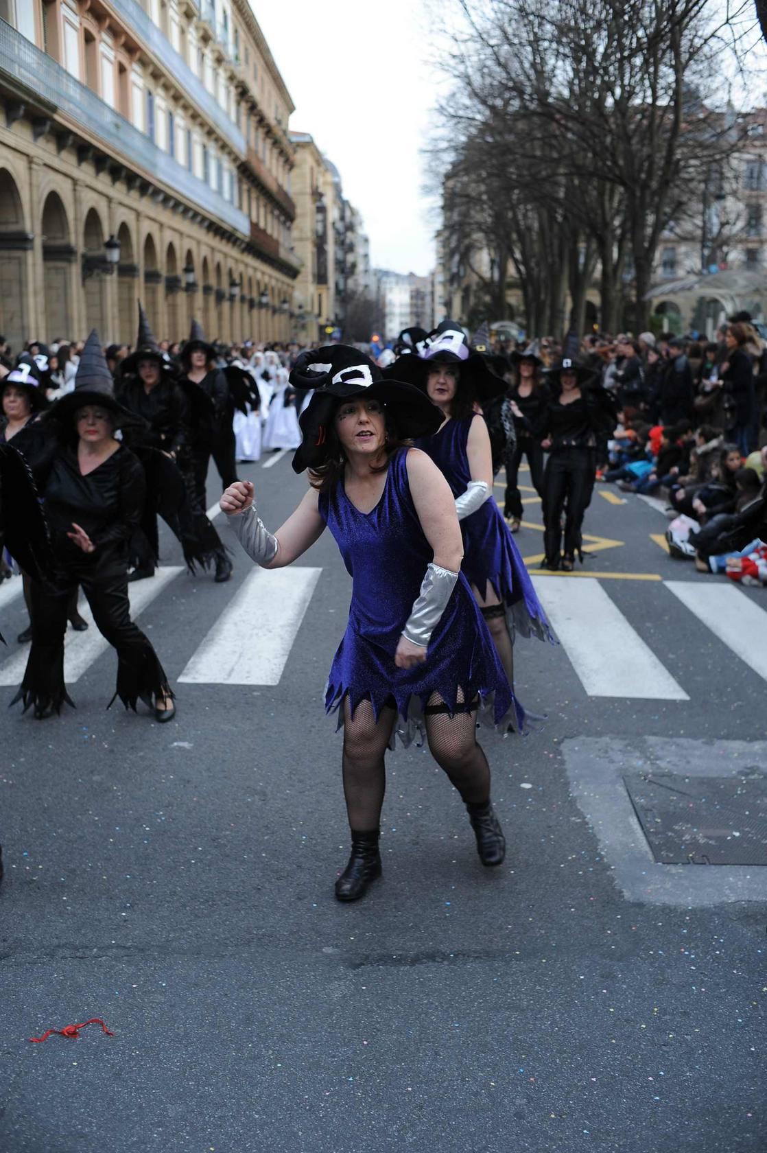 Desfile de carnaval en Donostia