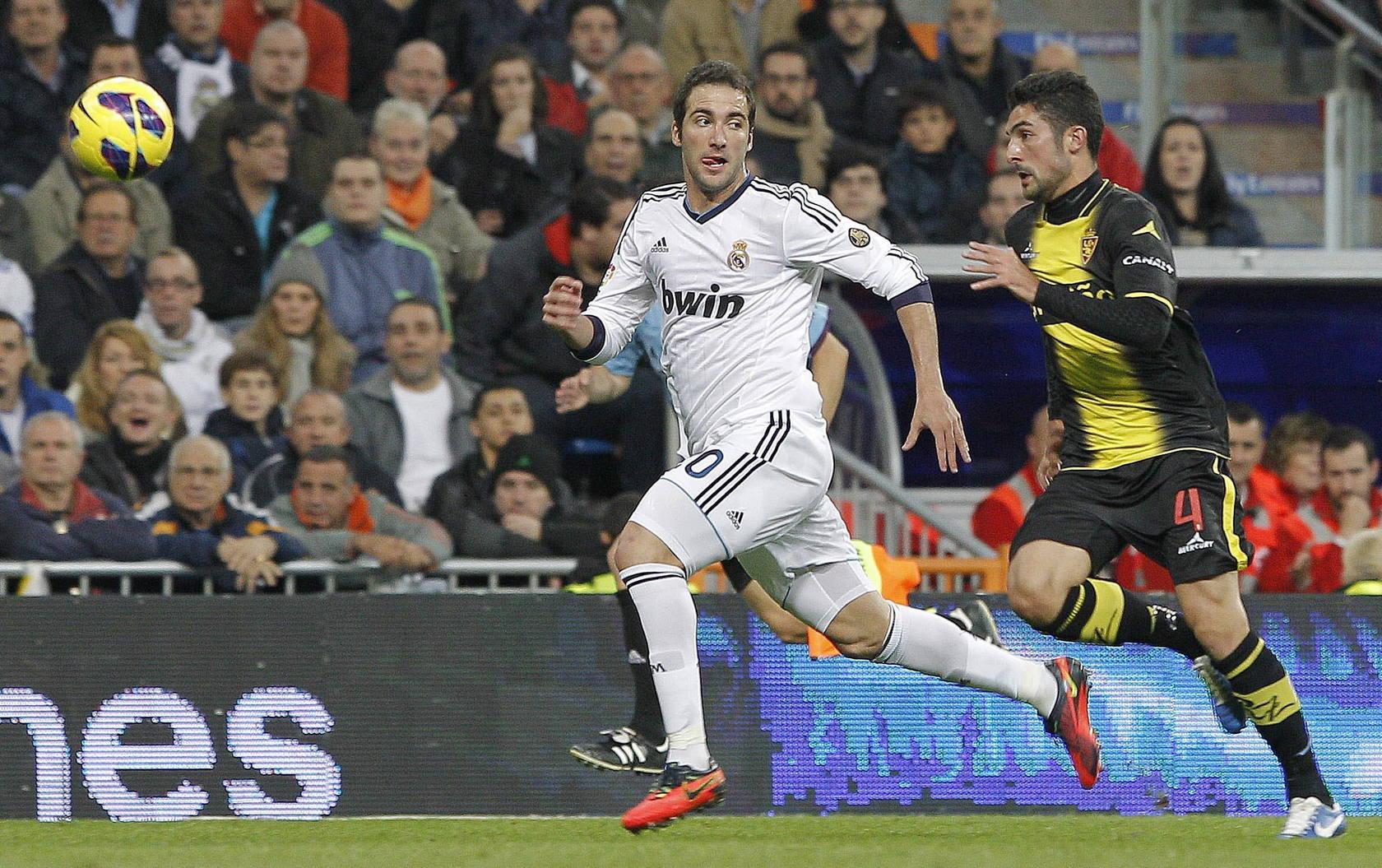 Real Madrid-Zaragoza