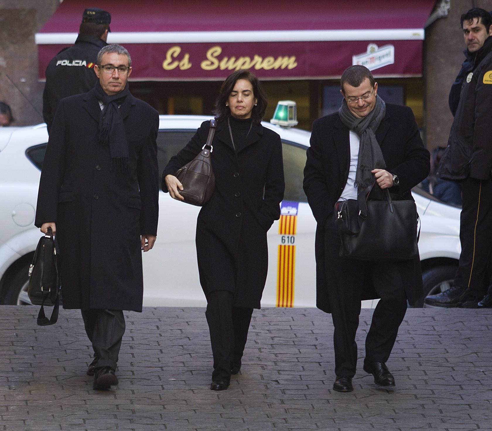 Diego Torres comparece en los juzgados de Palma