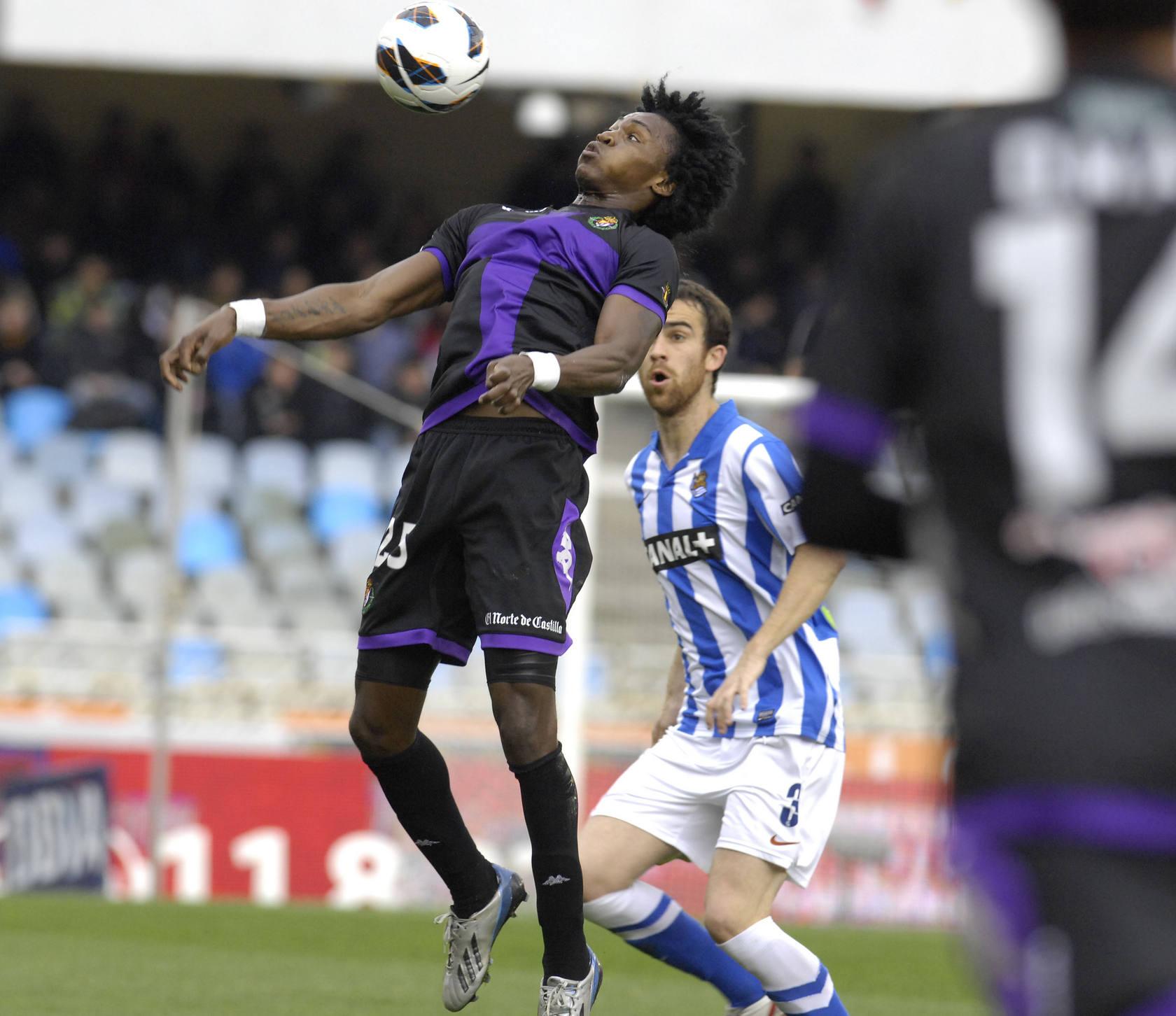 Desfiele de goles de la Real Sociedad contra el Valladolid