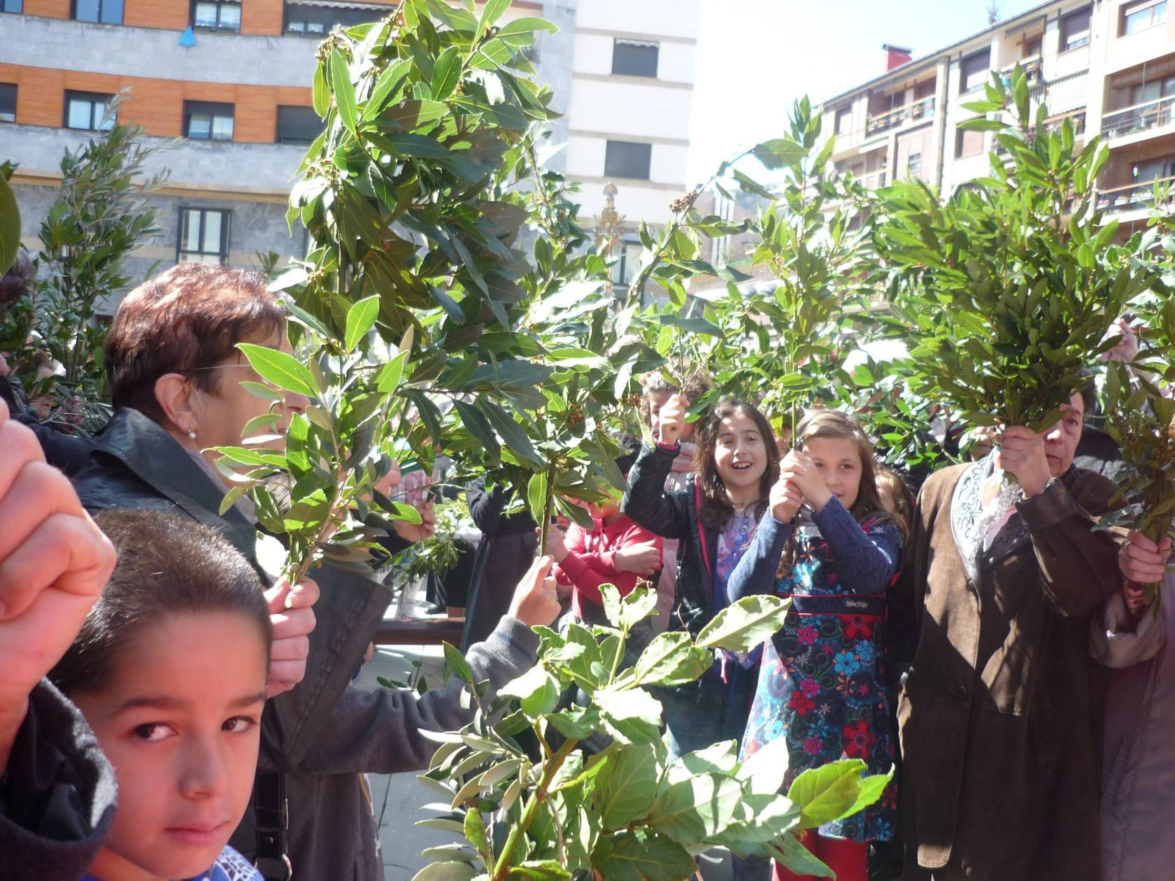 Domingo de ramos en Gipuzkoa