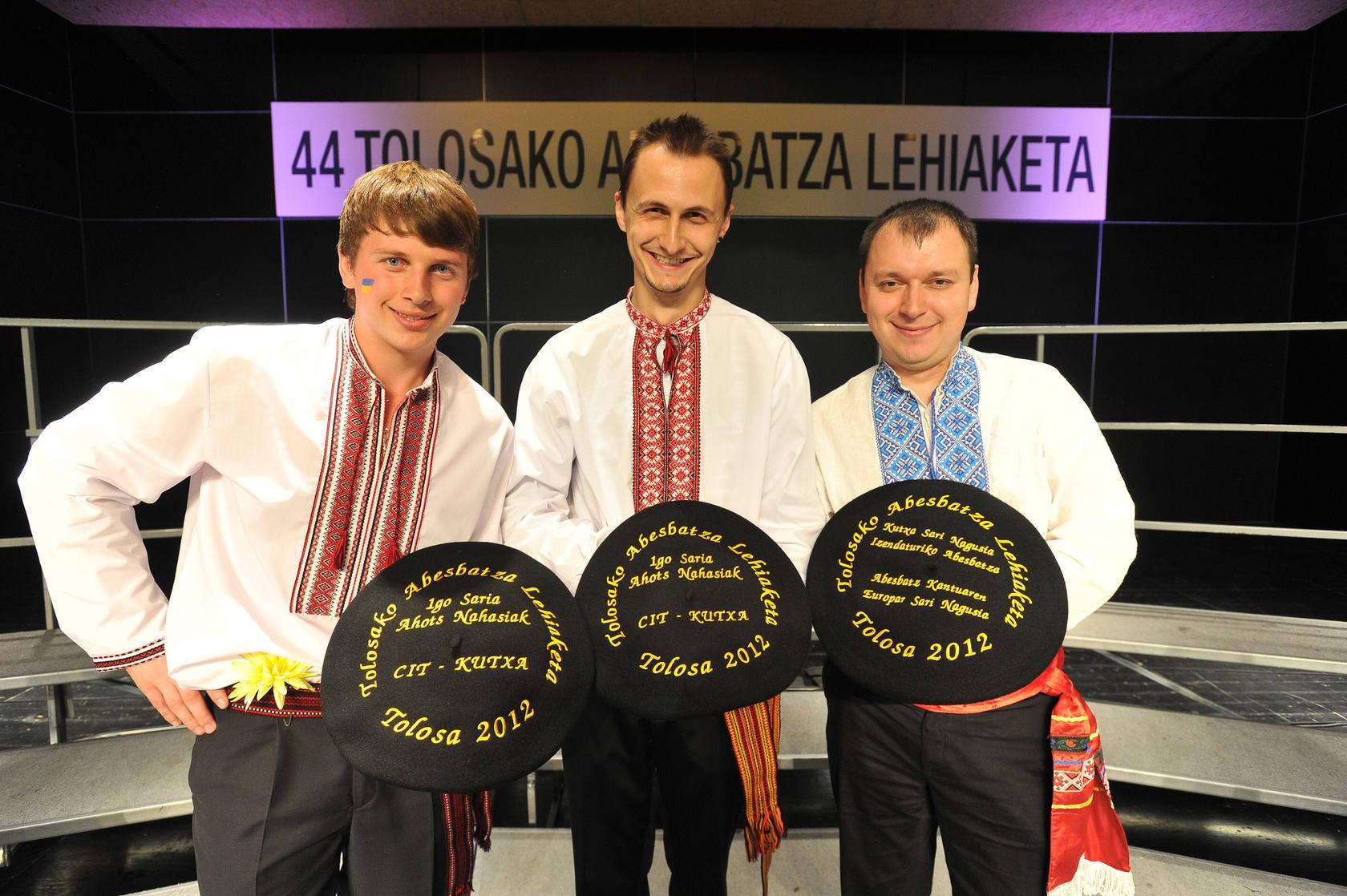 El certamen de coros de Tolosa se va a Ucrania
