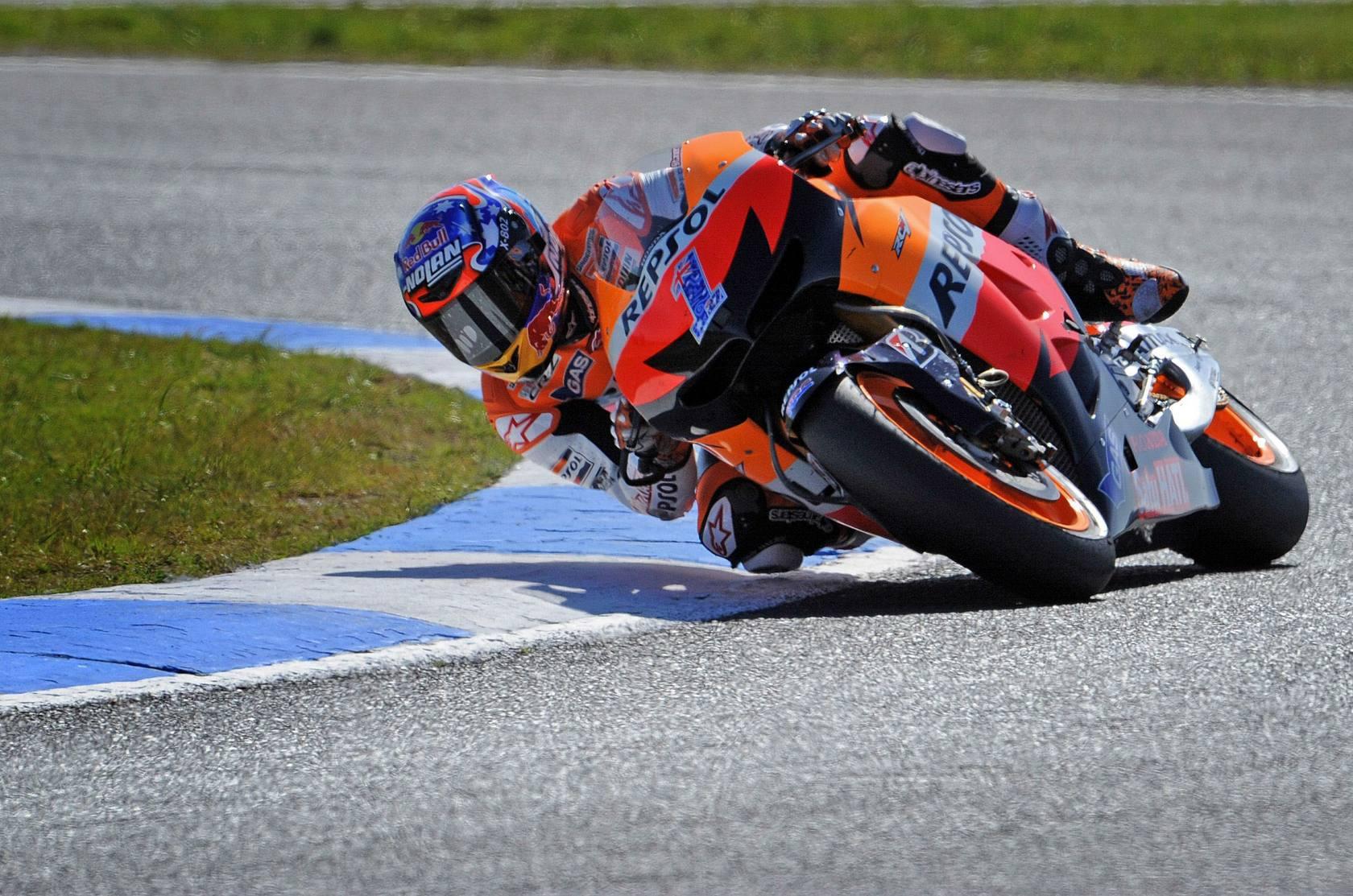 Las mejores imágenes del GP de Australia de motociclismo