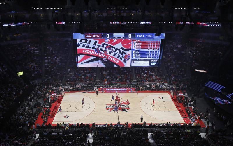 El partido de las estrellas del 'All Star' de la NBA